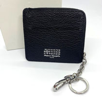 Maison Margiela Unisex Leather Small Wallet Logo Coin Cases