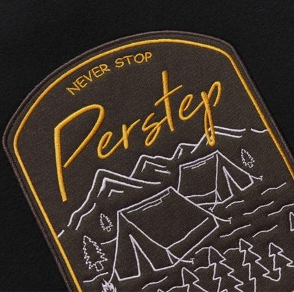 perstep Hoodies Unisex Street Style Long Sleeves Logo Hoodies 5