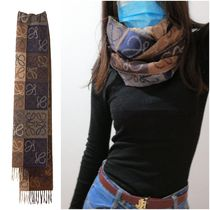 LOEWE Anagram Anagram Scarf In Wool And Cashmere