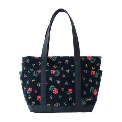 Flower Patterns Casual Style Collaboration Bags