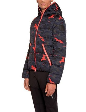 Camouflage Collaboration Down Jackets