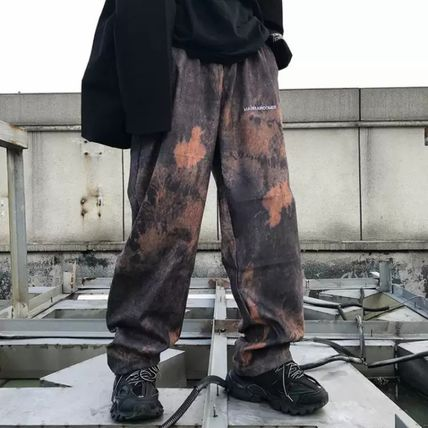 Printed Pants Camouflage Leopard Patterns Unisex