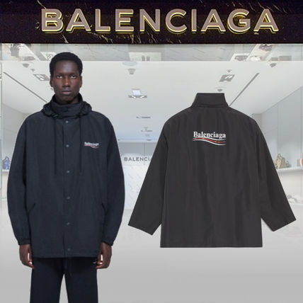 BALENCIAGA Archetype Printed Raincoat
