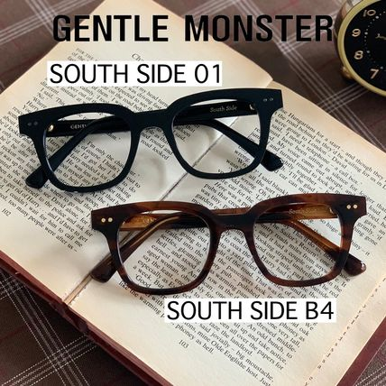 Gentle Monster Unisex Street Style Oversized Eyeglasses
