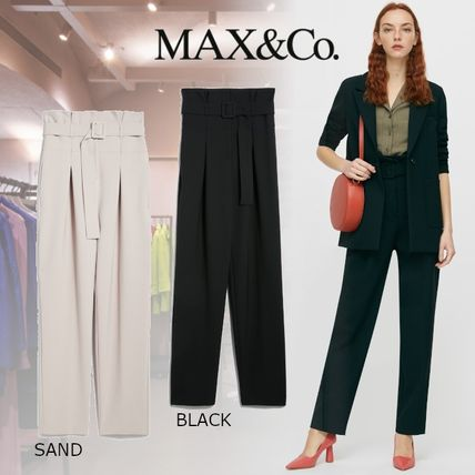 Max&Co. Casual Style Plain Cotton Long Party Style Office Style