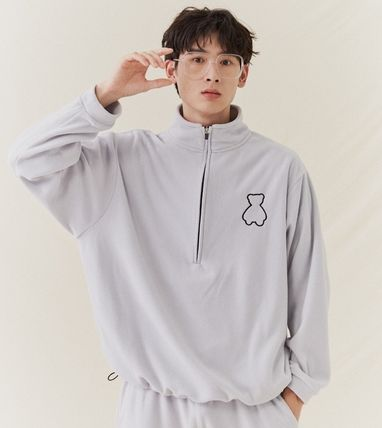 Unisex Street Style Other Animal Patterns Oversized Logo