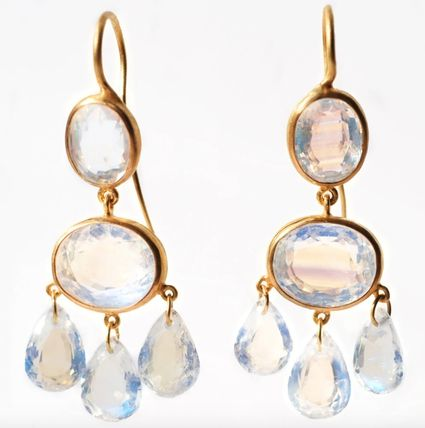 Costume Jewelry Party Style Elegant Style Bridal Earrings
