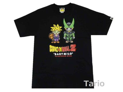 A BATHING APE More T-Shirts Street Style Collaboration Cotton Short Sleeves T-Shirts