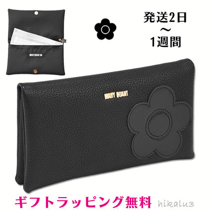 Flower Patterns Logo Pouches & Cosmetic Bags