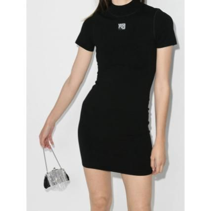 Short Casual Style Tight Street Style Short Sleeves