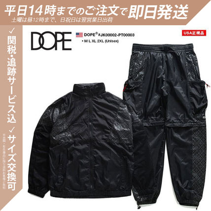 Unisex Street Style Oversized Co-ord Nylon Jacket