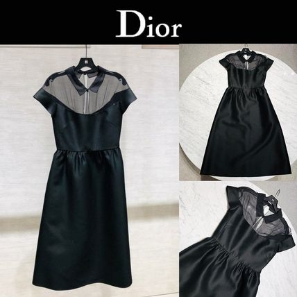 Christian Dior Formal Style  Casual Style Blended Fabrics Plain