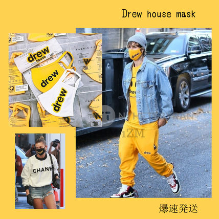drew house More T-Shirts Unisex Street Style Plain T-Shirts