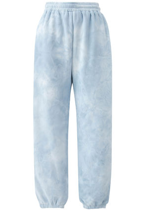 Casual Style Street Style Tie-dye Cotton Oversized Pants