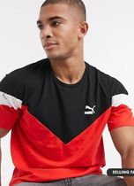 PUMA Crew Neck Crew Neck Street Style Cotton Short Sleeves Logo 9