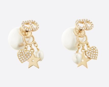 Star Casual Style Party Style Formal Style  Earrings