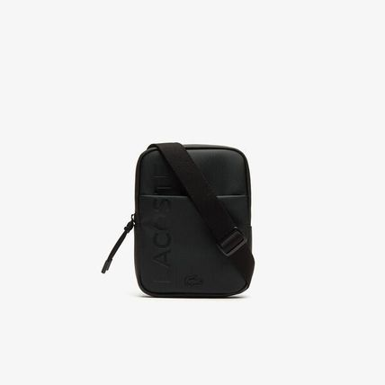 Plain Leather Logo Messenger & Shoulder Bags