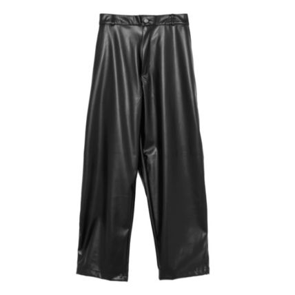 OPEN THE DOOR Casual Style Street Style Plain Pants