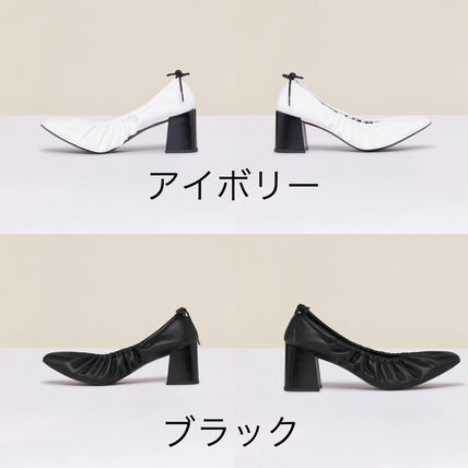 Casual Style Elegant Style Pumps & Mules