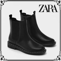 ZARA Casual Style Office Style Elegant Style Boots Boots