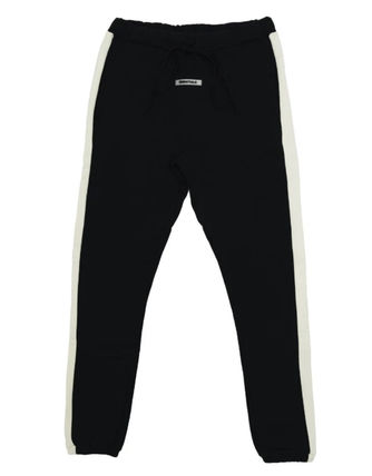 FEAR OF GOD ESSENTIALS Tapered Pants Unisex Street Style Plain Cotton Logo Bottoms