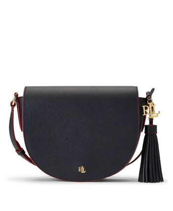 Ralph Lauren Casual Style Tassel Street Style 2WAY Bi-color Plain Leather