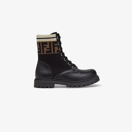 FENDI Kids Girl Boots