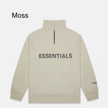 FEAR OF GOD Sweatshirts Pullovers Unisex Street Style Long Sleeves Plain Cotton 6