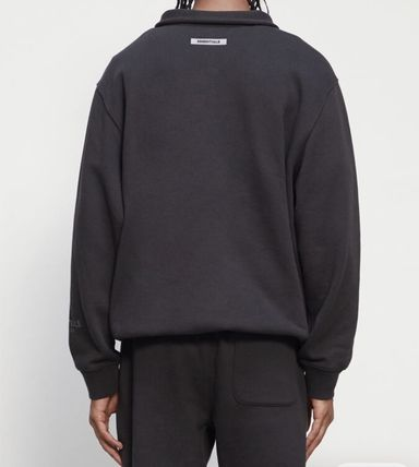 FEAR OF GOD Sweatshirts Pullovers Unisex Street Style Long Sleeves Plain Cotton 11