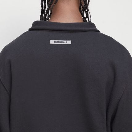 FEAR OF GOD Sweatshirts Pullovers Unisex Street Style Long Sleeves Plain Cotton 12