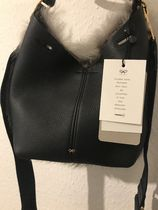 Anya Hindmarch Casual Style Nylon 3WAY Bi-color Plain Leather Party Style