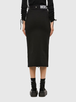 DIESEL Pencil Skirts Casual Style Plain Medium Party Style