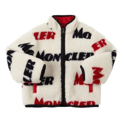 MONCLER CRISPIN Blended Fabrics Nylon Jacket  Front Button
