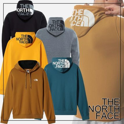 THE NORTH FACE Hoodies Street Style Long Sleeves Plain Cotton Logo Outdoor Hoodies