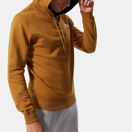 THE NORTH FACE Hoodies Street Style Long Sleeves Plain Cotton Logo Outdoor Hoodies 4