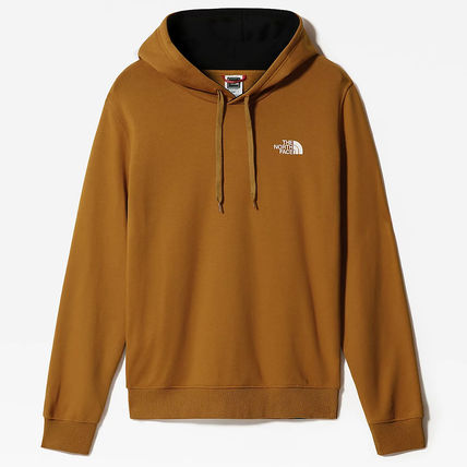 THE NORTH FACE Hoodies Street Style Long Sleeves Plain Cotton Logo Outdoor Hoodies 5