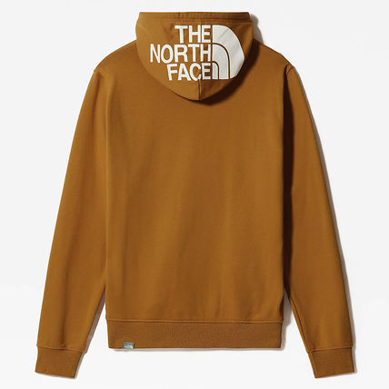 THE NORTH FACE Hoodies Street Style Long Sleeves Plain Cotton Logo Outdoor Hoodies 6