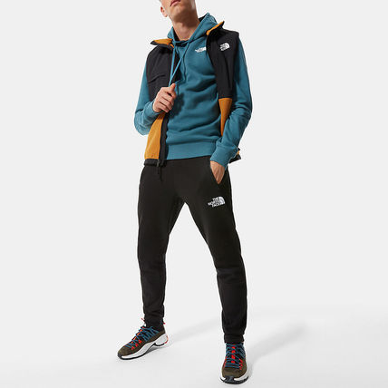 THE NORTH FACE Hoodies Street Style Long Sleeves Plain Cotton Logo Outdoor Hoodies 7