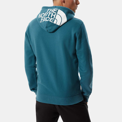 THE NORTH FACE Hoodies Street Style Long Sleeves Plain Cotton Logo Outdoor Hoodies 8