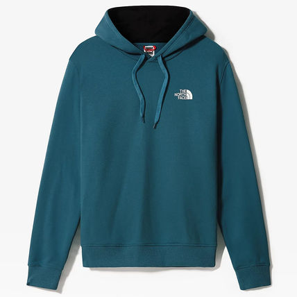 THE NORTH FACE Hoodies Street Style Long Sleeves Plain Cotton Logo Outdoor Hoodies 9