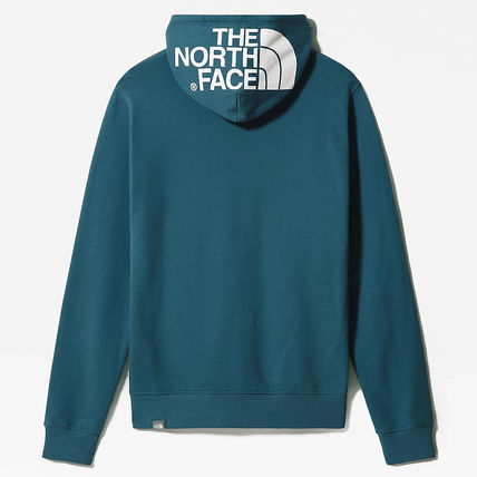 THE NORTH FACE Hoodies Street Style Long Sleeves Plain Cotton Logo Outdoor Hoodies 10