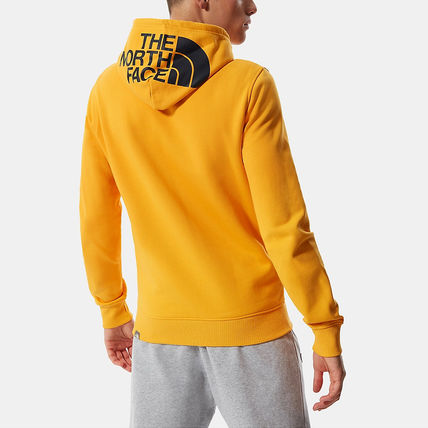 THE NORTH FACE Hoodies Street Style Long Sleeves Plain Cotton Logo Outdoor Hoodies 12