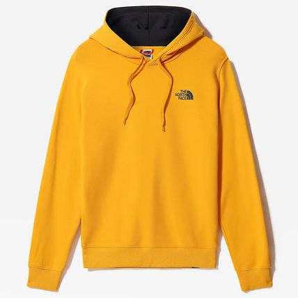 THE NORTH FACE Hoodies Street Style Long Sleeves Plain Cotton Logo Outdoor Hoodies 13