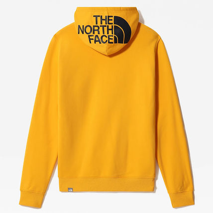 THE NORTH FACE Hoodies Street Style Long Sleeves Plain Cotton Logo Outdoor Hoodies 14