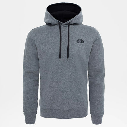 THE NORTH FACE Hoodies Street Style Long Sleeves Plain Cotton Logo Outdoor Hoodies 16