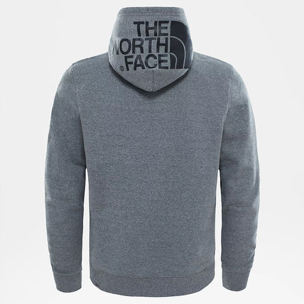 THE NORTH FACE Hoodies Street Style Long Sleeves Plain Cotton Logo Outdoor Hoodies 17