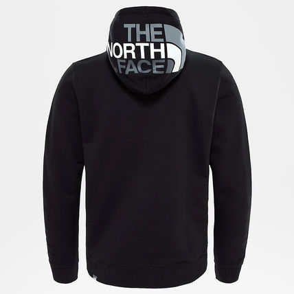 THE NORTH FACE Hoodies Street Style Long Sleeves Plain Cotton Logo Outdoor Hoodies 20