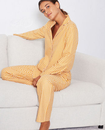 Zigzag Co-ord Front Button Lounge & Sleepwear