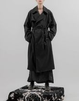 FLARE UP Trench Casual Style Unisex Street Style Trench Coats 7