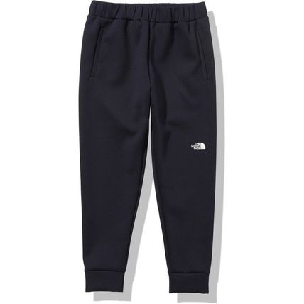 THE NORTH FACE Blended Fabrics Street Style Plain Logo Joggers & Sweatpants